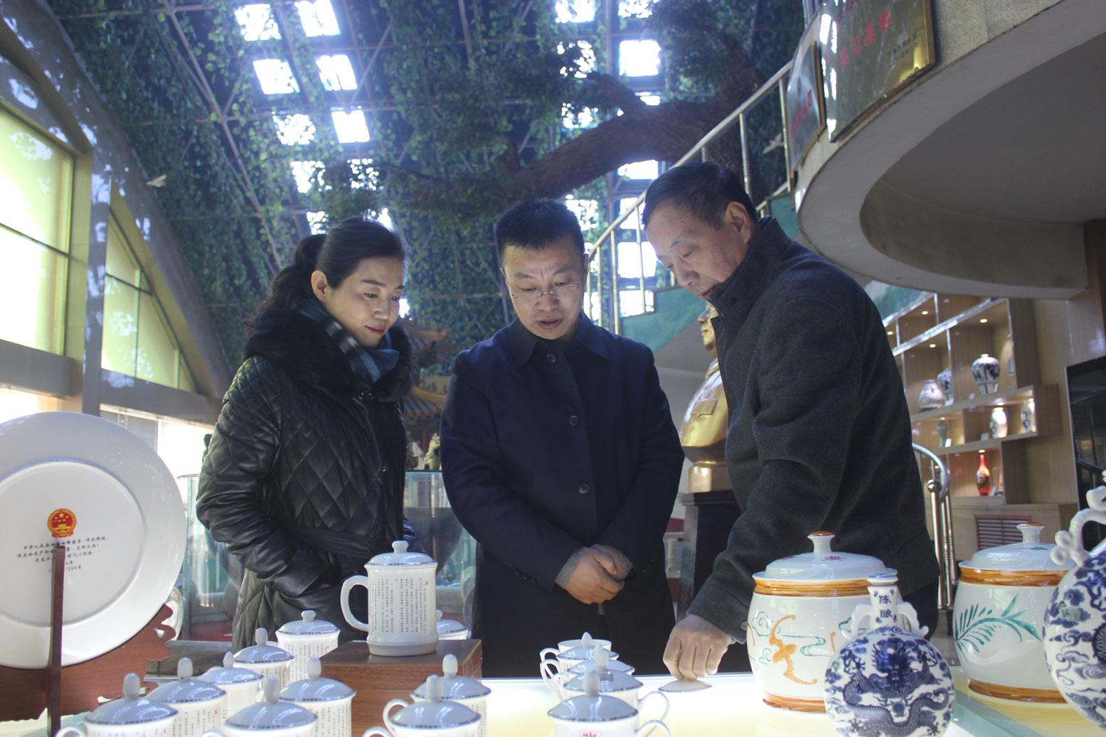 晋中市委统战部副部长、工商联党组书记郭宇佳一行来我公司调研指导
